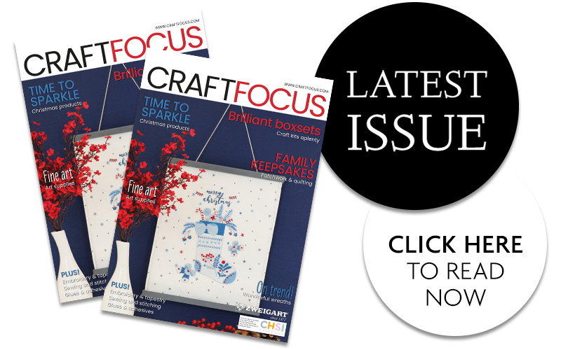 Latest issue of Craft Focus magazine is available now